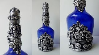 Bottle Craft Ideas/  Bottle Art / Bottle Decoration