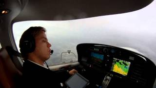 First Solo IFR Flight with the Diamond DA40XLS