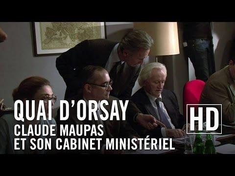 Quai d'Orsay  Claude Maupas et son cabinet ministériel