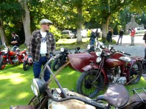 VINTAGE Old Indian Motorcycles Never ever Die rally 09