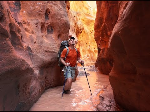 Across Utah 2016: Burr Trail Loop Hike (full)
