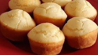 Pãozinho Sem Óleo e Sem Ovos Para Substituir o Pão