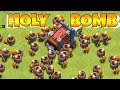 "WALL BREAKER MAXED LVL TROLL!! ""Clash Of Clans"" HEALS AND CLONES!!"