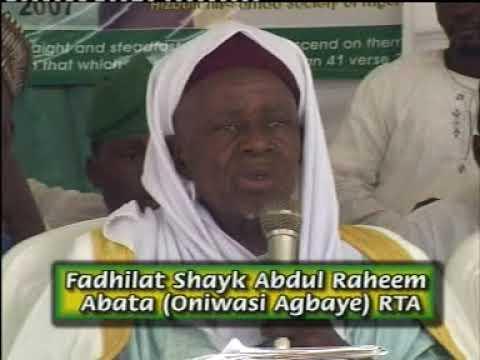 Download ASIRI KUL U WALLAU - Fadeelat Sheikh Abdul-Raheem Ameenu-llahi Al-Adabiy (Oniwasi-Agabaye)
