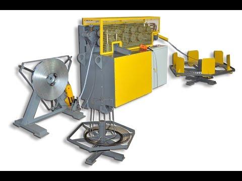 видео: Станок АКЛ-300 для производства колючей проволоки Егоза