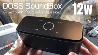 Doss SoundBox Portable Bluetooth Speaker | HD Audio and Bass