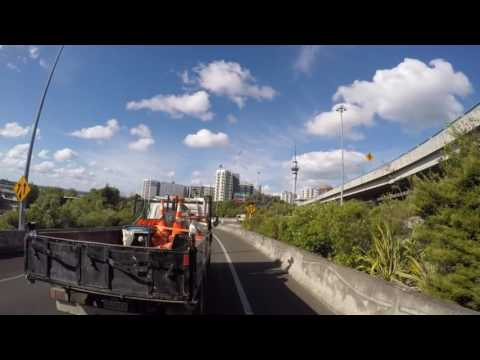 Ride from AUT City Campus to Glenfield, North Shore