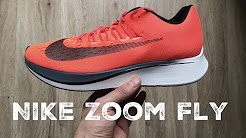 Nike Zoom Fly ´neon orange´ | UNBOXING & ON FEET | running shoes | 2017 | HD