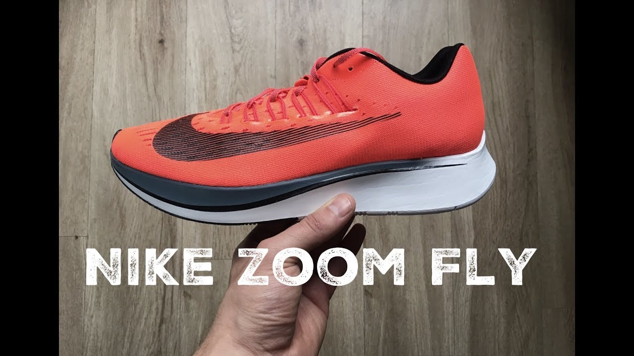 nike zoom fly red