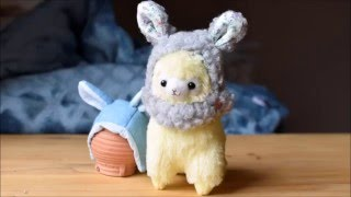 Let's Make a Bunny Helmet for Alpacasso and Cuddly Toys