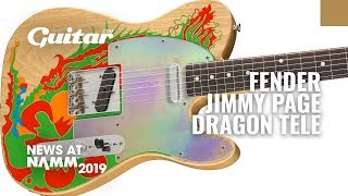 First Look: Fender Jimmy Page Dragon Telecaster #NAMM2019