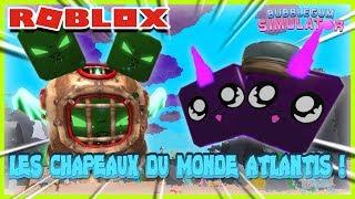 Gli HATS DEL MONDO DI ATLANTIS! Roblox Bubble Gum Simulator