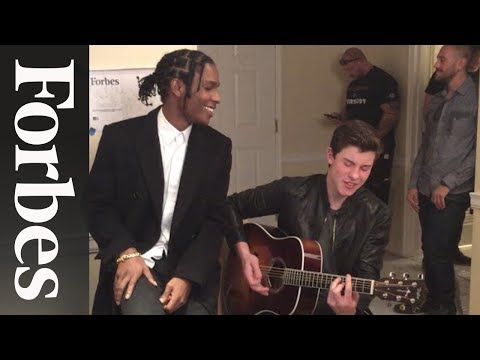 Shawn Mendes and A$AP Rocky's Impromptu Duet | Forbes