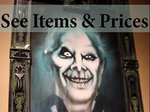 Haunted Mansion Gift Shop Merchandise w/ PRICES! Momento Mori Disney Magic Kingdom