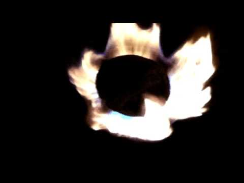 ASMR - Kerosene Stove Flames - White Noise - No Talking