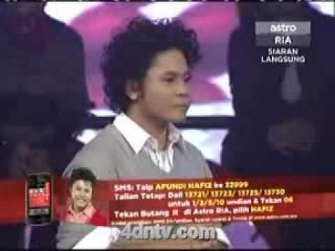 Konsert 1 Akademi Fantasia 7 Minggu pertama hafiz ~ 14/03/2009