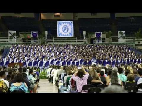 Sail On, O My Soul | Kamehameha Schools Commencement 2016