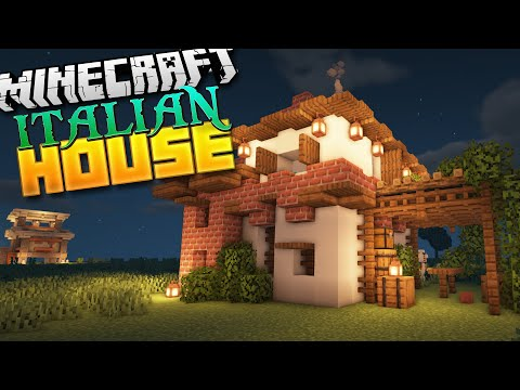 How To Build An Italian House In Minecraft! (1.14 Tutorial)