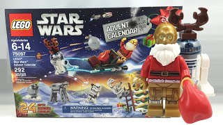 LEGO Star Wars 2015 Advent Calendar review! 75097