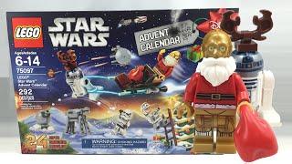 LEGO Star Wars 2015 Advent Calendar review! 75097