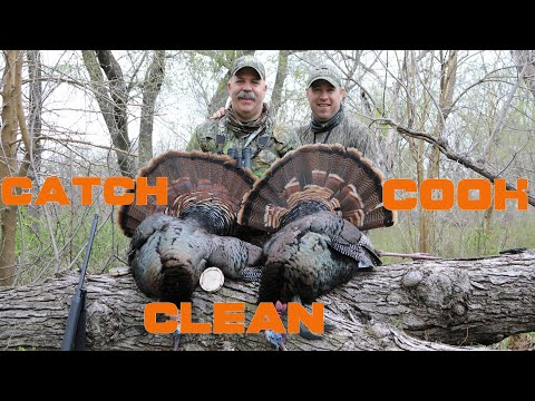 Turkey Hunting-Kansas Opening Morning Double(CATCH CLEAN COOK)
