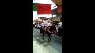 cabalgata a la virgen de guadalupe en san juan bautista tuxtepec oaxaca