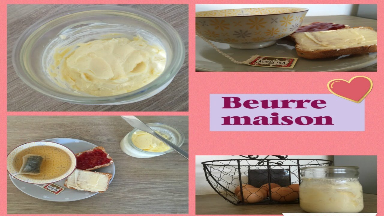 Beurre maison au thermomix youtube - Beurre persille thermomix ...