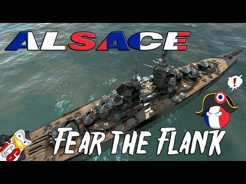 World of Warships - Alsace Datamine - Fear the Flank