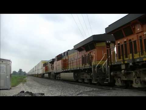 A Day on BNSF's Transcon - The Marceline Subdivision Part 1 of 2