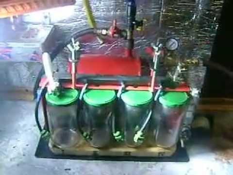 Стенд для промывки форсунок