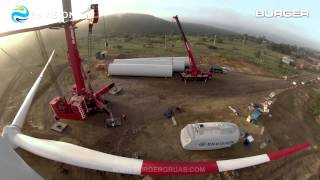 Envision Energy's Wind Turbine Installation in Chile 2014