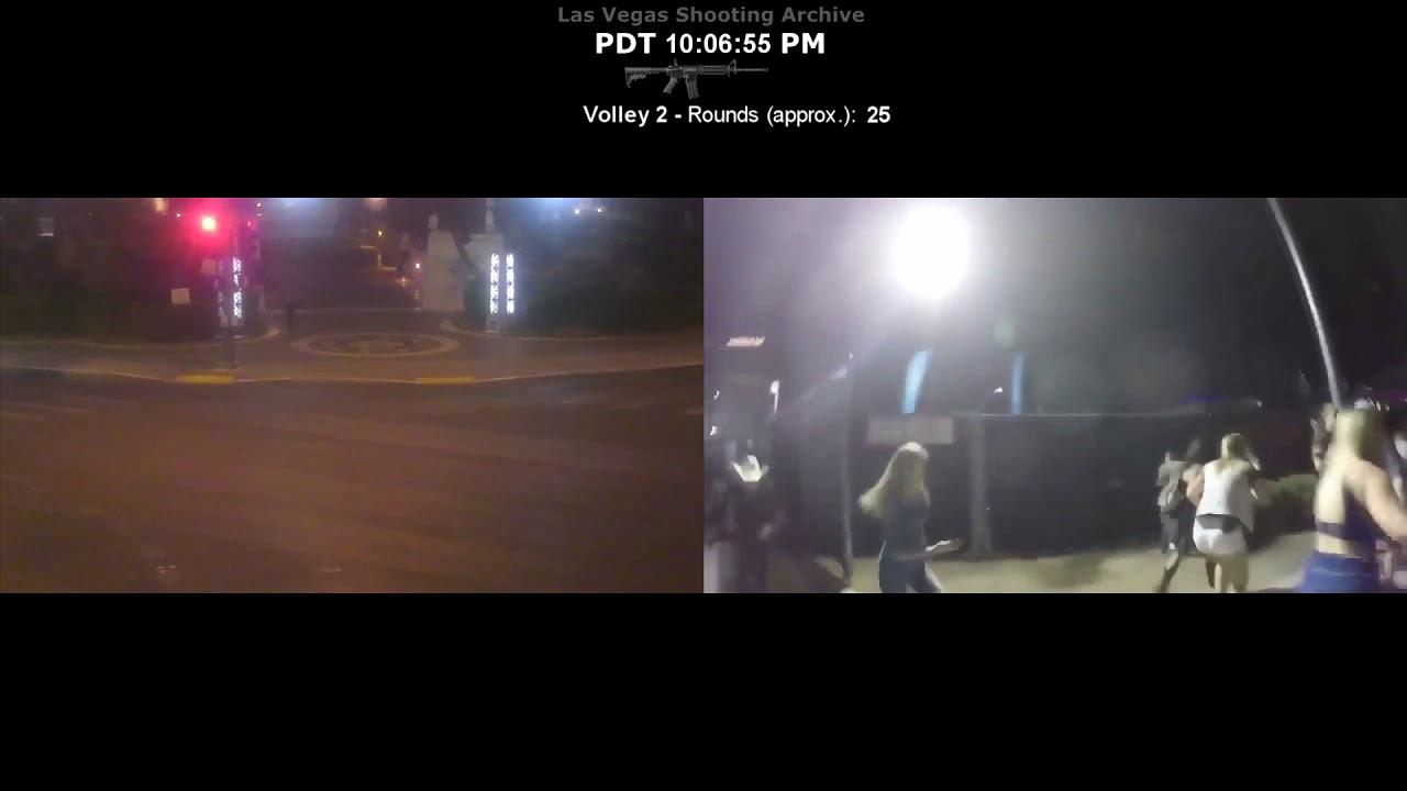 Las Vegas Shooting - street cam timeline study