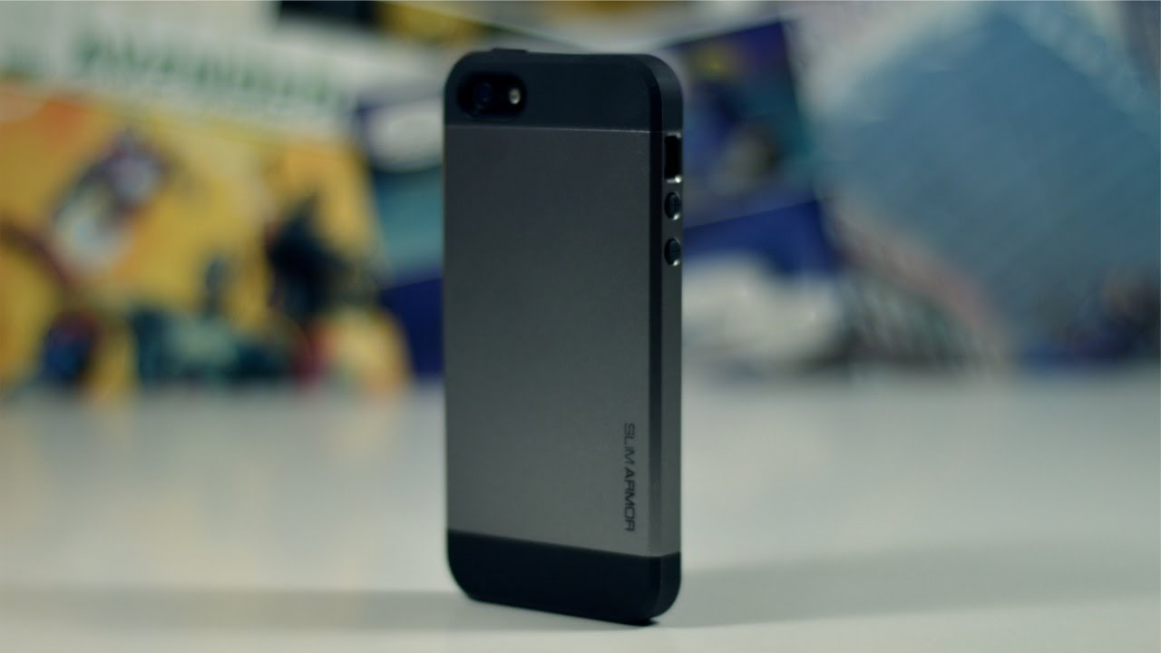 bc5e856933 Spigen Slim Armor Case for iPhone 5/5s - Review - YouTube
