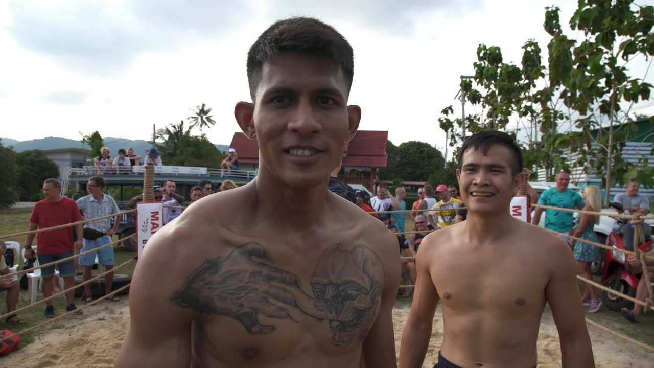 THAi DIABLO vs Muay Thai Fighter
