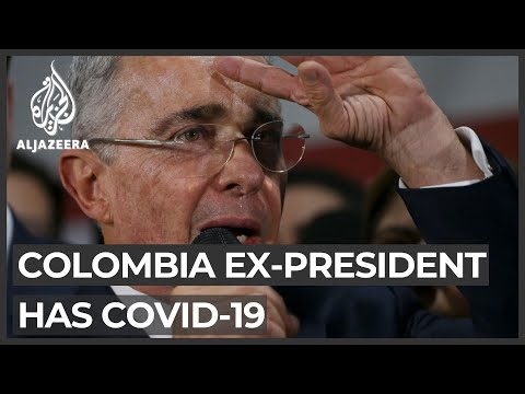 Colombia's ex-president Alvaro Uribe tests positive for COVID-19