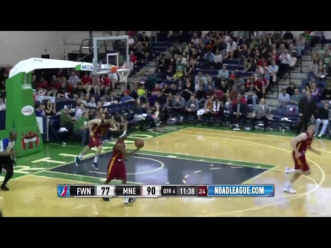 Jordan Mickey posts 27 points & 13 rebounds vs. the Mad Ants
