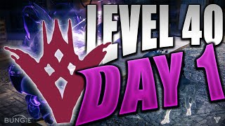 Destiny: How to Get LEVEL 40 on Day 1 (The Taken King DLC)