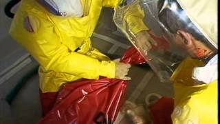 ASBESTOS REMOVAL, SIMULATED