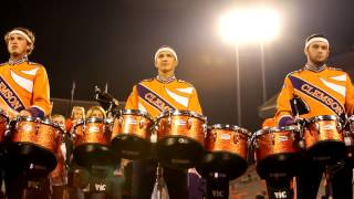 Clemson University Drumline after Maryland 2012