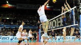 R1 Italy vs Iran Volleyball FIVB World League مسابقه والیبال لیگ جهانی ایران ایتالیا Italia Volley