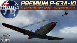 "War Thunder - ""Summertime Madness Event"" P-63A-10 - Realistic Battle"