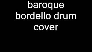 the stranglers-baroque bordello drum cover