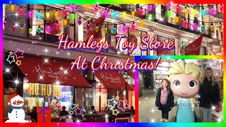 Hamleys Toy Store London At Christmas Time 2019 ~ Worlds Biggest And Oldest Toy Store! #hamleys