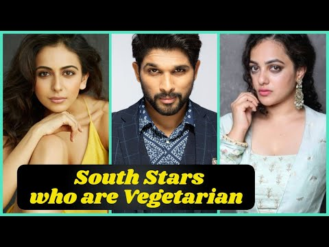 10 South Indian Stars who are Vegetarian