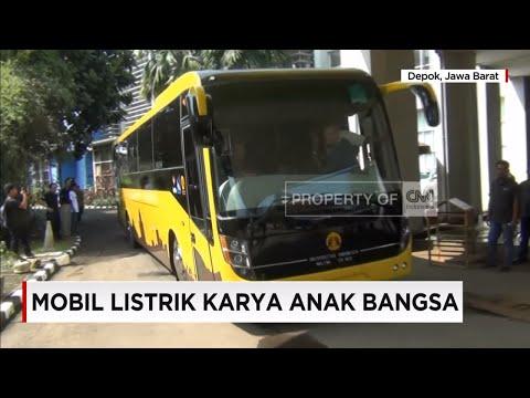 Bus Tenaga Listrik Karya Universitas Indonesia