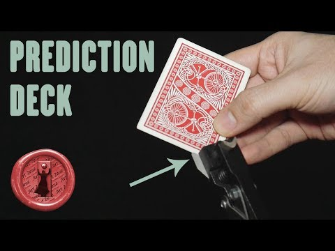 SUPER easy and SUPER visual Card Magic - Prediction Deck