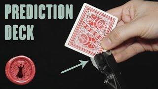 SUPER easy and SUPER visual Card Magic - Prediction Deck