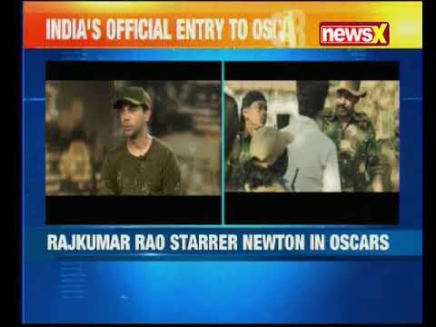 Rajkummar Rao starrer 'Newton' is India's official entry to the 2018 Oscars