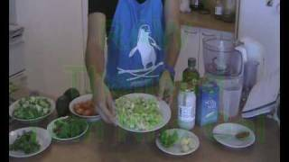 Raw Food! Thai Tom Kah Recipe.