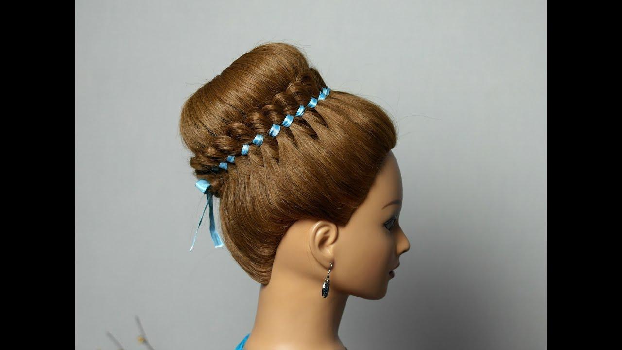 braided hairstyle long hair
